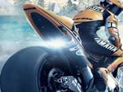 Juego Carrera de Motos en el Hielo 3D