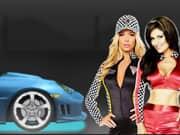 Juego Carreras de Autos Trucados contra Chicas