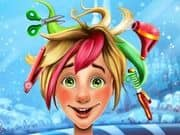 Juego Christmas Elf Real Haircuts