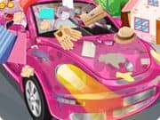 Juego Clean My Pink New Beetle