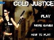 Juego Cold Justice
