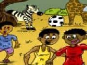 Juego Colorea Africa y la Copa Mundial
