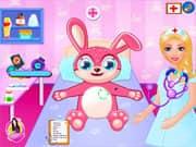 Juego Cuidados Medicos del Conejo de Pascua