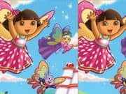 Juego Cute Dora Difference
