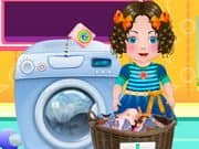 Juego Daria Washing Clothes