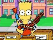Juego Defensa Bart Simpson