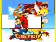 Juego Digimon Rompecabezas