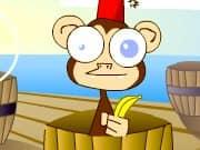 Juego Disparar a Monos en Barriles - Disparar a Monos en Barriles online gratis, jugar Gratis