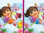 Juego Dora 6 Differences