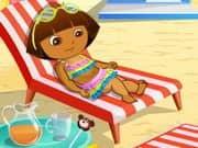 Juego Dora At Beach