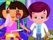 Juego Dora At Eye Clinic