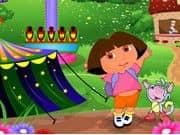 Juego Dora At Theme Park