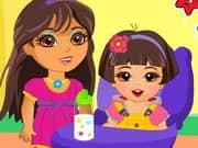 Juego Dora Babysitter