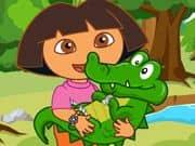 Juego Dora Care Baby Crocodile