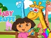 Juego Dora Care Baby Giraffe