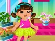 Juego Dora Diversion en la Tienda de Flores