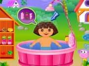 Juego Dora Fun Bathing