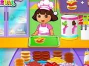 Juego Dora Fun Cafe