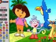 Juego Dora Hidden Numbers