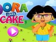 Juego Dora Loves Cake Makeup