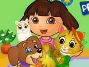 Juego Dora Pets Care