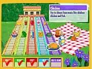Juego Dora Piramide de Alimentos