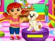 Juego Dora Puppy Caring