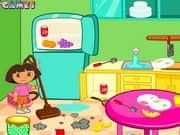 Juego Dora Room Clean