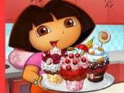 Juego Dora Tasty Cupcakes