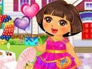 Juego Dora Valentine Sweet Dresup
