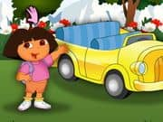 Juego Dora at Car Show