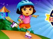 Juego Dora en Patines