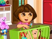 Juego Dora la Exploradora Bromas a su Hermana