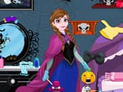 Juego Elsa And Anna Halloween Room Cleaning
