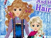 Juego Elsa And Her Mom Hairstyle