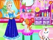 Juego Elsa Frozen Adopta una Mascota