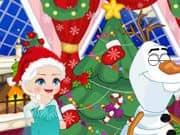 Juego Elsa Frozen Bromas de Navidad