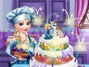 Juego Elsa Frozen Cake para la Boda
