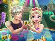 Juego Elsa Frozen Celebracion en el Jacuzzi
