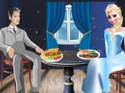 Juego Elsa Frozen Cena Romantica