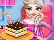 Juego Elsa Frozen Cocinando un Tiramisu