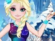 Juego Elsa Frozen DIY Vestido Galaxia