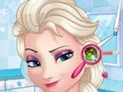 Juego Elsa Frozen Doctor de Oido