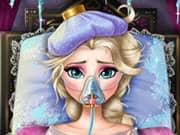 Juego Elsa Frozen Enferma