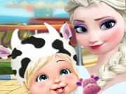 Juego Elsa Frozen Fiesta Infantil