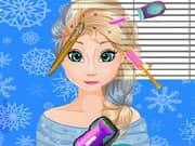 Juego Elsa Frozen Implante de Cabello