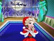 Juego Elsa Frozen Navidad en Casa