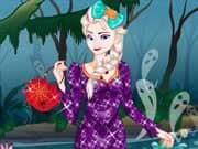 Juego Elsa Frozen en Halloween