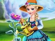 Juego Elsa Frozen y su Flor de Hielo