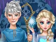 Juego Elsa Frozen y su Novio Jack Frost